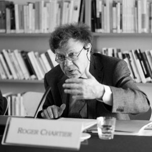 Roger Chartier CEFRES, 2011