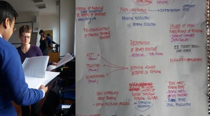 «Writing camp» du réseau de recherche sur la lecture EU-RED